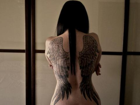 big wings tattoo