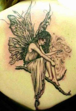 Fairy Angel Tattoo