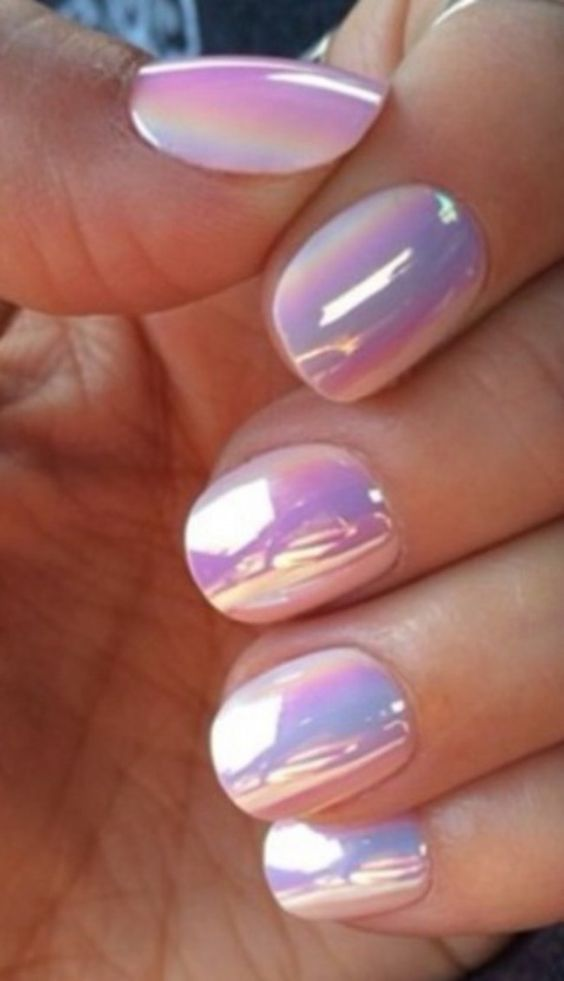 Easy Pink Nail Designs Fmag