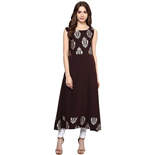 anarkali dress lady