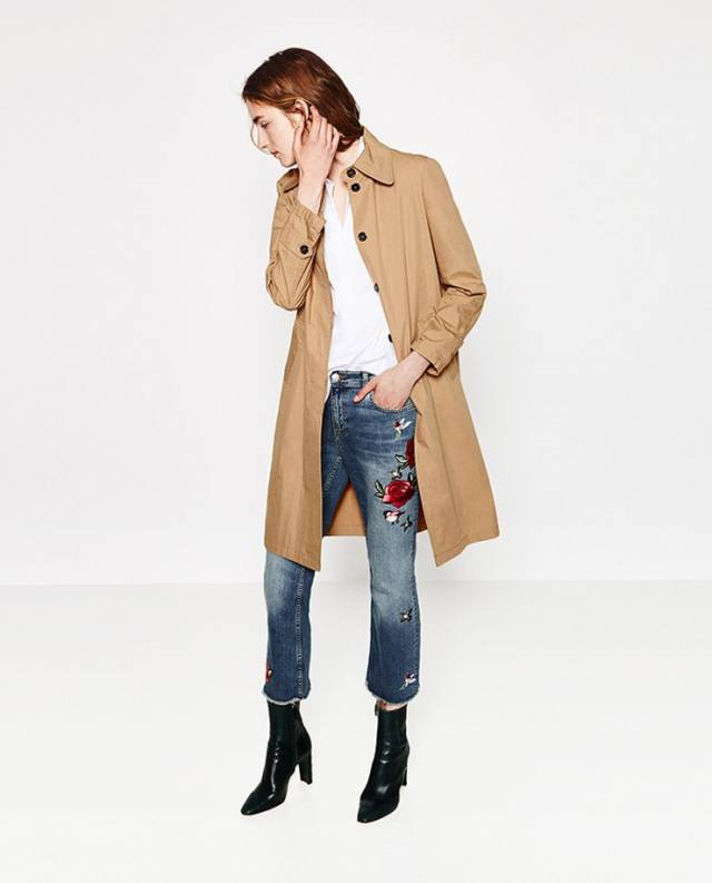 capri jeans longline jacket boot