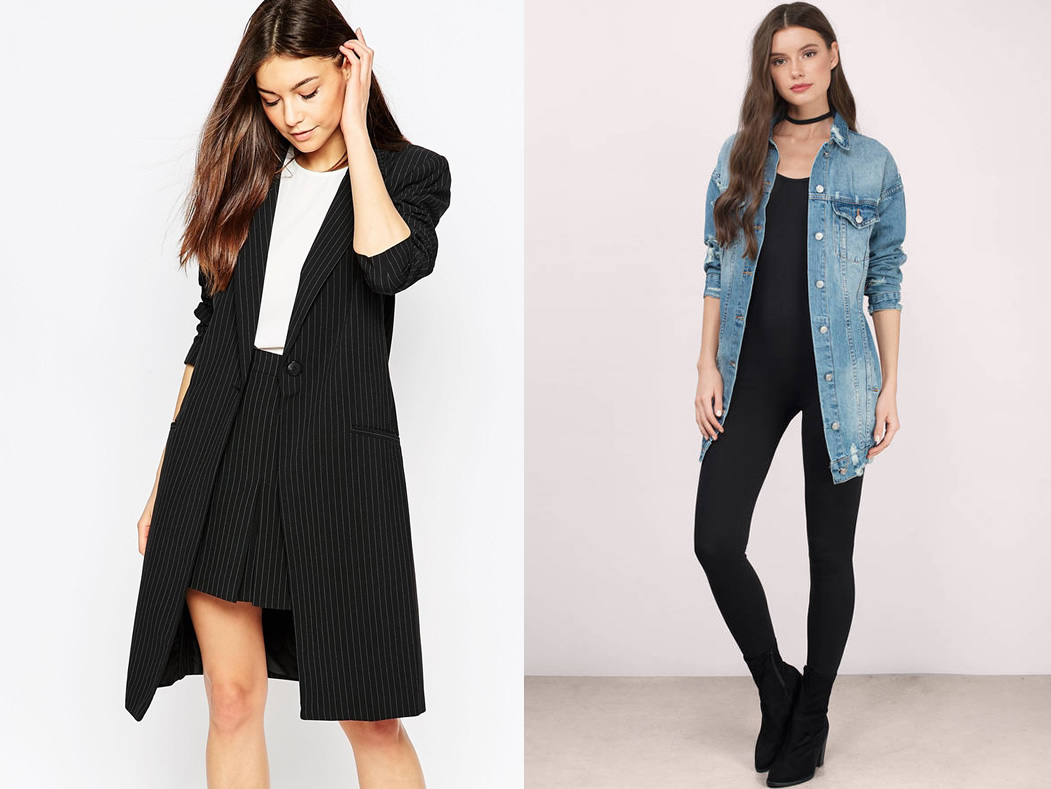 d67bcc218df 12 Best Longline Blazer and Jacket Outfit Ideas for Women - FMag.com