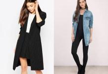 how to wear longline blazers jackets