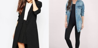 how to wear longline blazers jackets