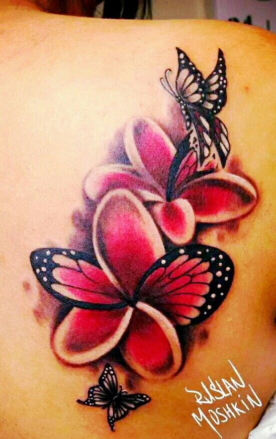 13 Amazing Plumeria Tattoo Design Ideas and Meanings