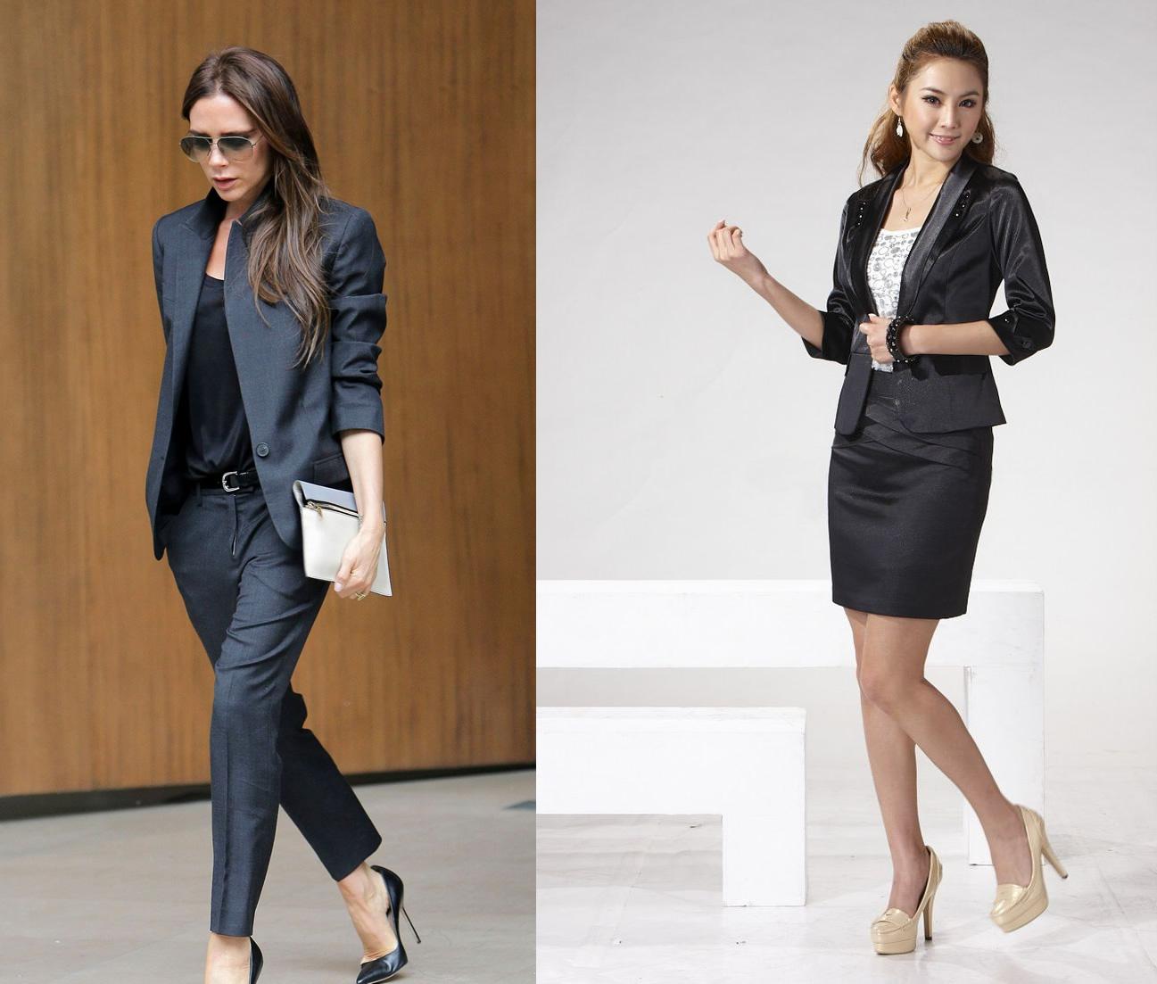 10 Ladylike Ways to Wear a Suit: Women Work Fashion - FMag.com