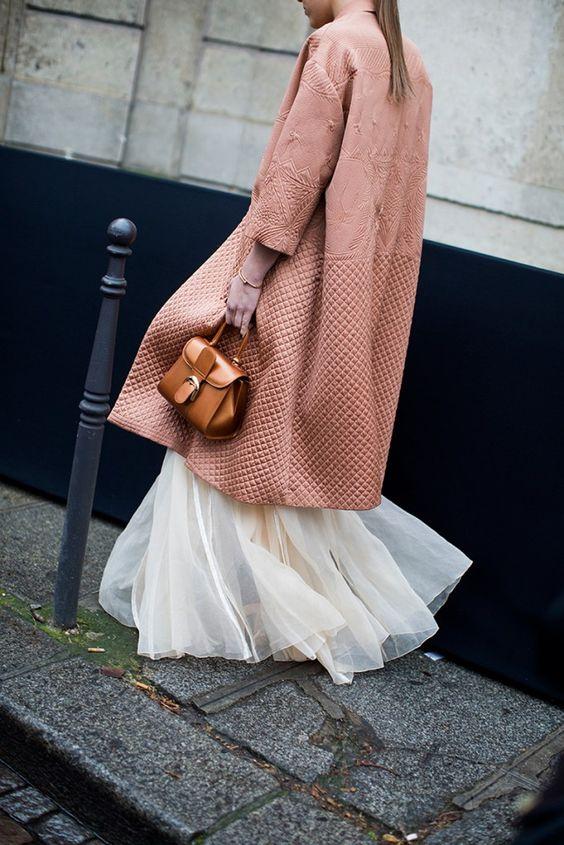 soft pink coat