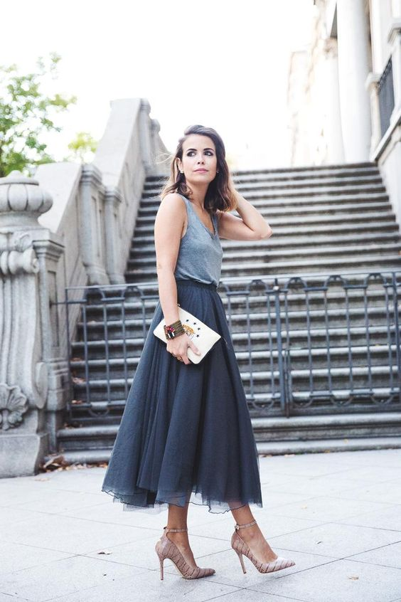 casual best tulle skirt