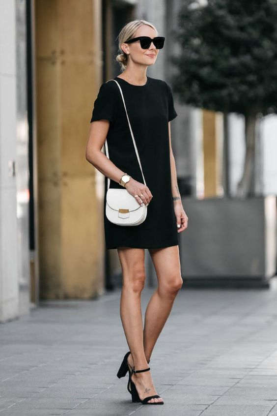 simplicity shift dress