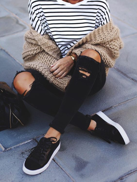 so cheap good service best place How to Wear Black Sneakers for Women and Look Stylish - FMag.com