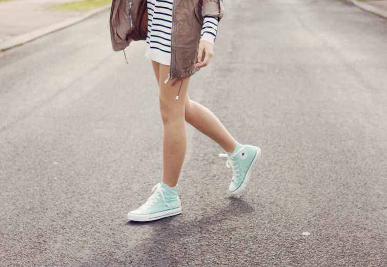 804bad4dc6f3 How to Wear High Top Converse for Women  Outfit Ideas - FMag.com