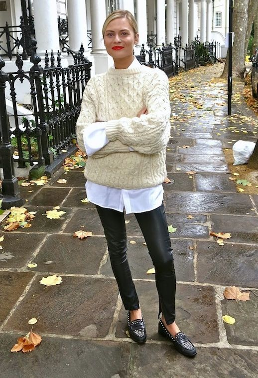 leggings to work sweater