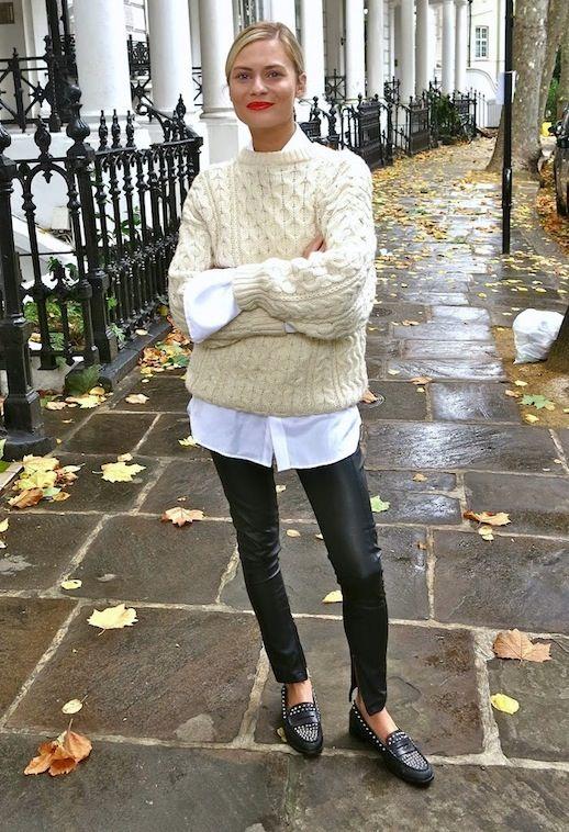 leggings to work sweater
