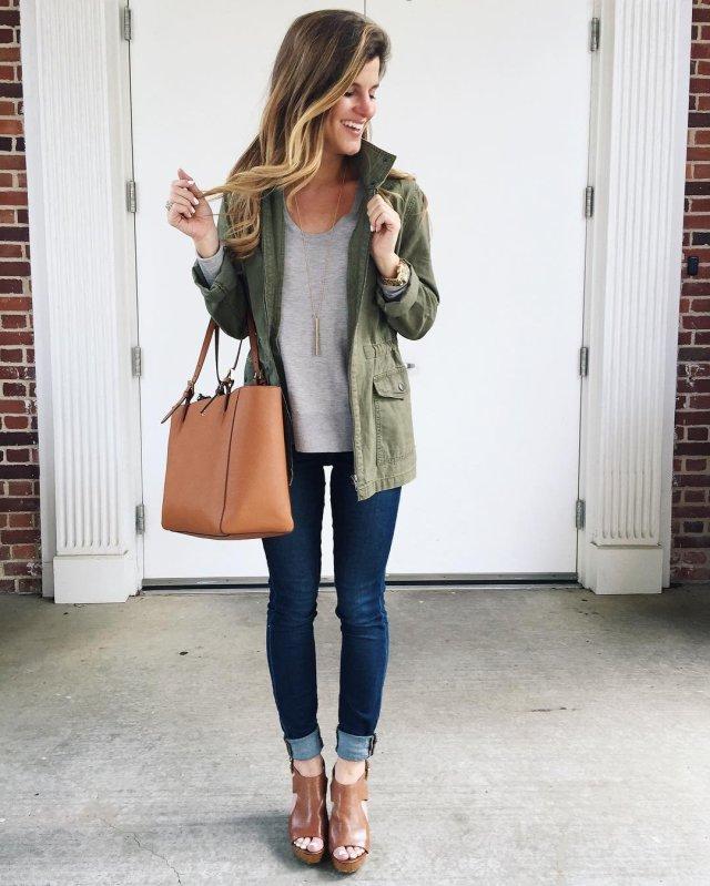 military jacket open toe booties