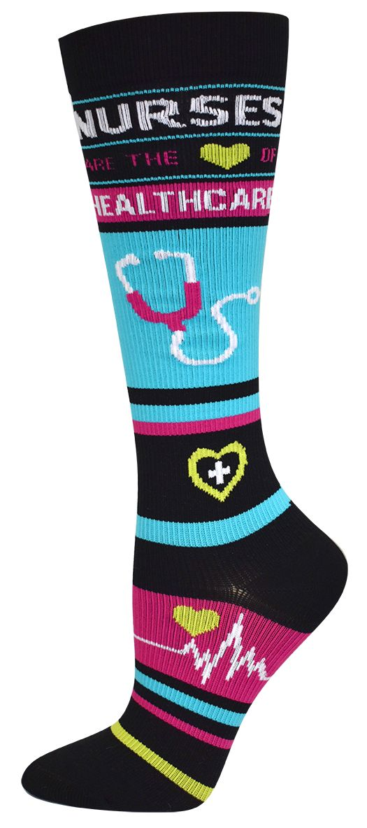nurses compression socks