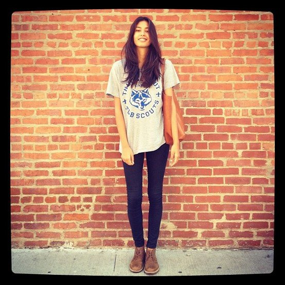 oversized t shirt leggings chukka boots