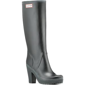 rain boots with heels
