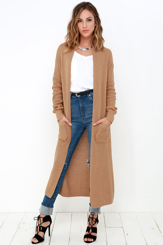 15 Best Ways to Wear Long Cardigan Sweater