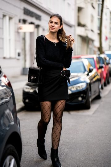 How To Wear Fishnet Tights With Class Outfit Ideas Fmag Com