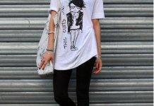 best ways to wear oversized t shirt