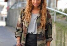 best camo jacket outfit ideas