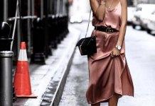 best silk dress outfit ideas