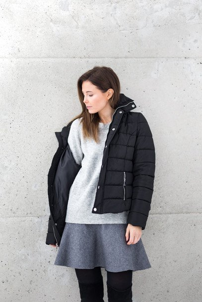 3a54c8939 How to Style Black Puffer Jacket for Women: Outfit Ideas - FMag.com