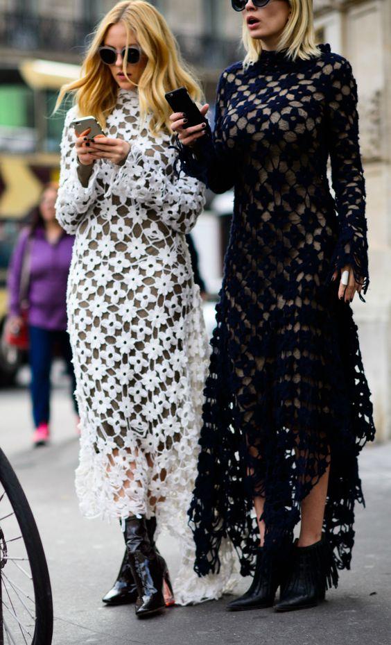 crochet dress double trouble