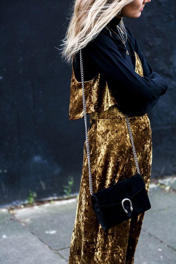 gold velvet dress velvet