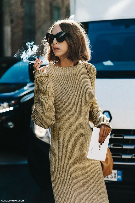 gold cocktail dress knit