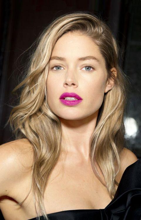 purple lipstick fair skin