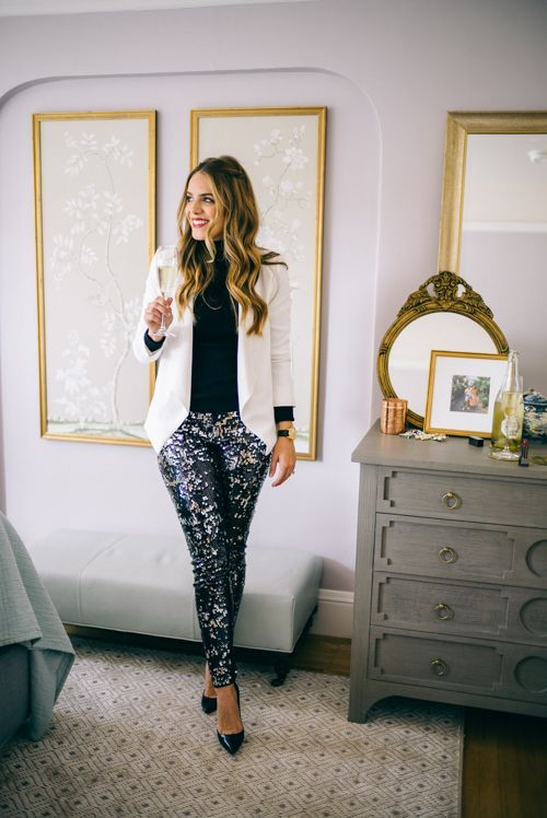 sequin leggings elegance