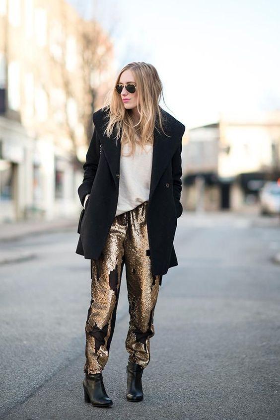sequin leggings stars