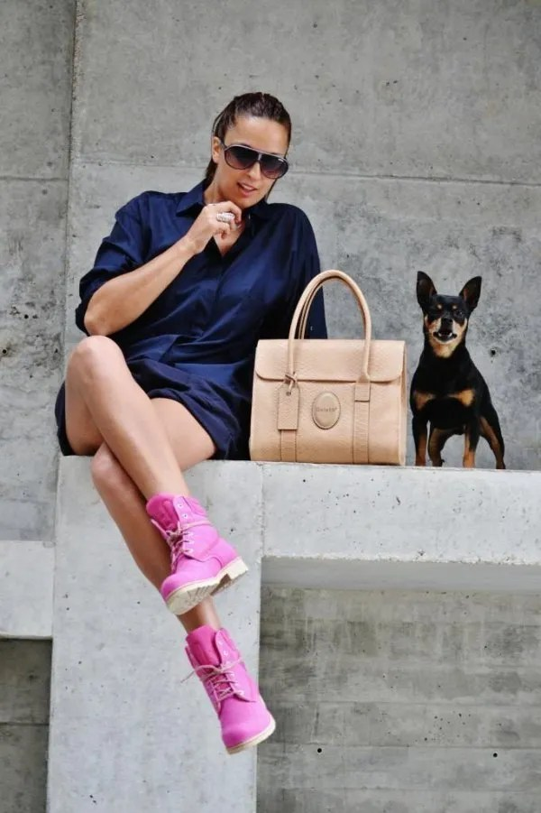best pink timberland boots outfits
