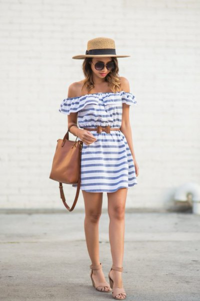 How to Style Straw Hat  15 Super Chic Outfits - FMag.com b539f957507