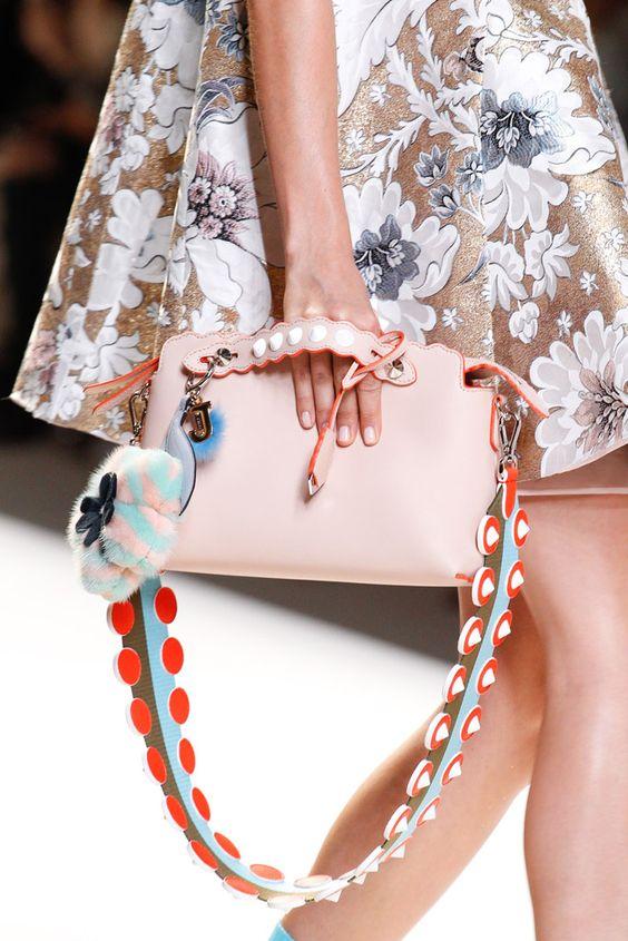 floral clutch bag double floral