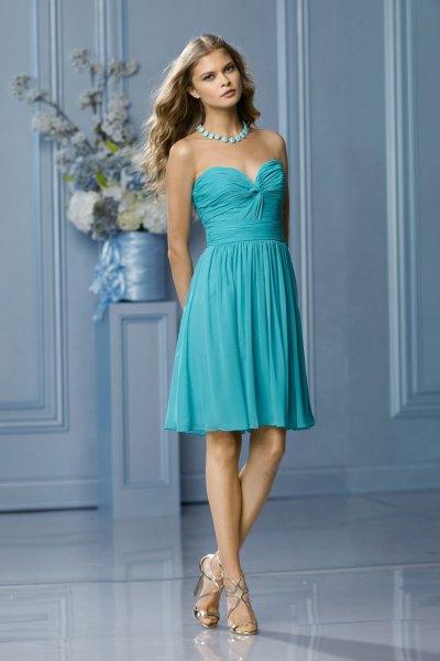 purple tulle dress silver heels
