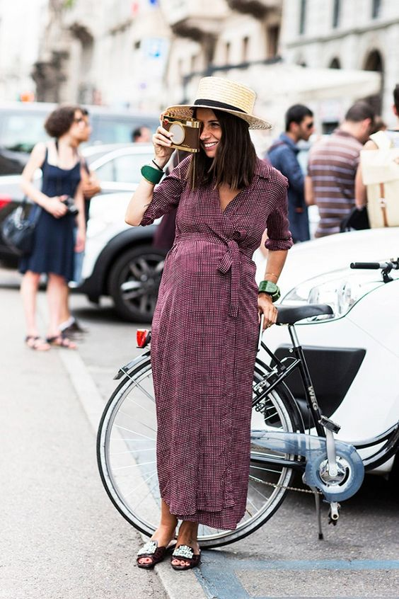 silk wrap dress maxi