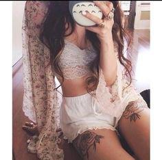 white mini shorts embroidered mesh cardigan