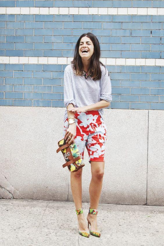 bermuda shorts florals