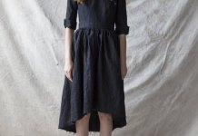 best black linen dress outfit ideas