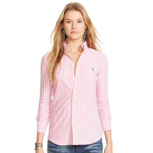 How to Wear Oxford Shirt for Women: Outfit Ideas
