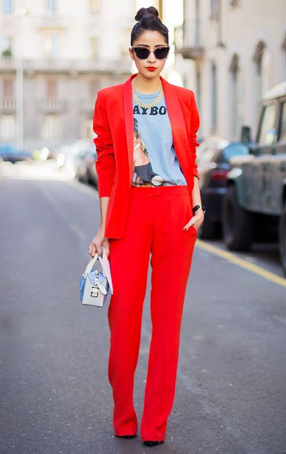 How to Wear Red Blazer for Women: Top Outfit Ideas