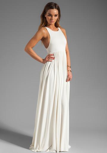 white tank dress maxi