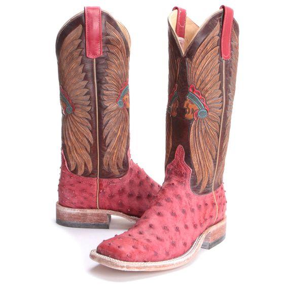 pink cowboy boots indian motifs