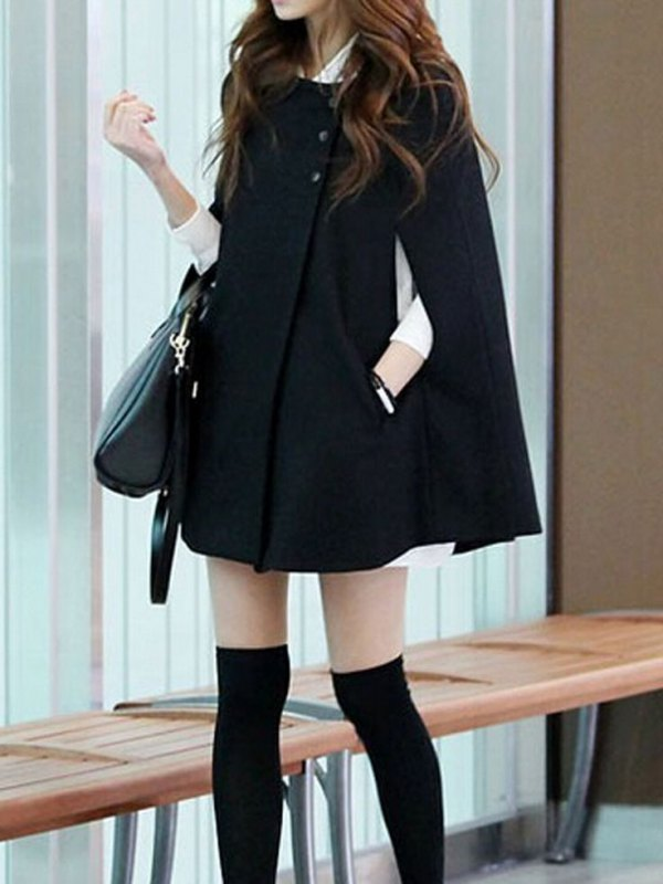 best cape coat outfit ideas