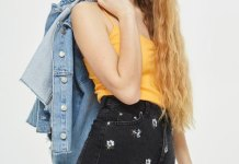 best embroidered shorts outfit ideas