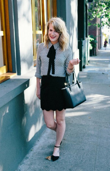 How To Wear Tie Neck Blouse Ultimate Style Guide Fmag Com