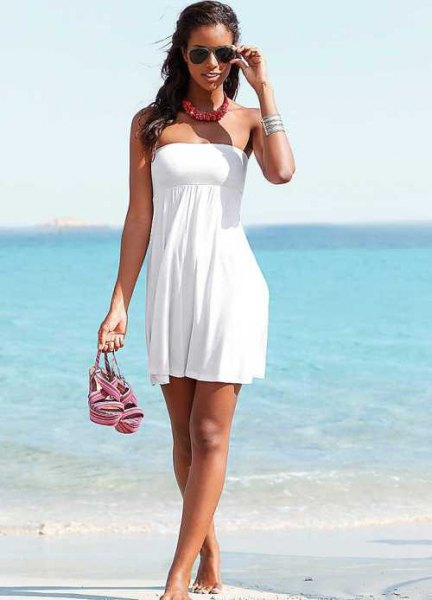 fit and flare mini tube dress