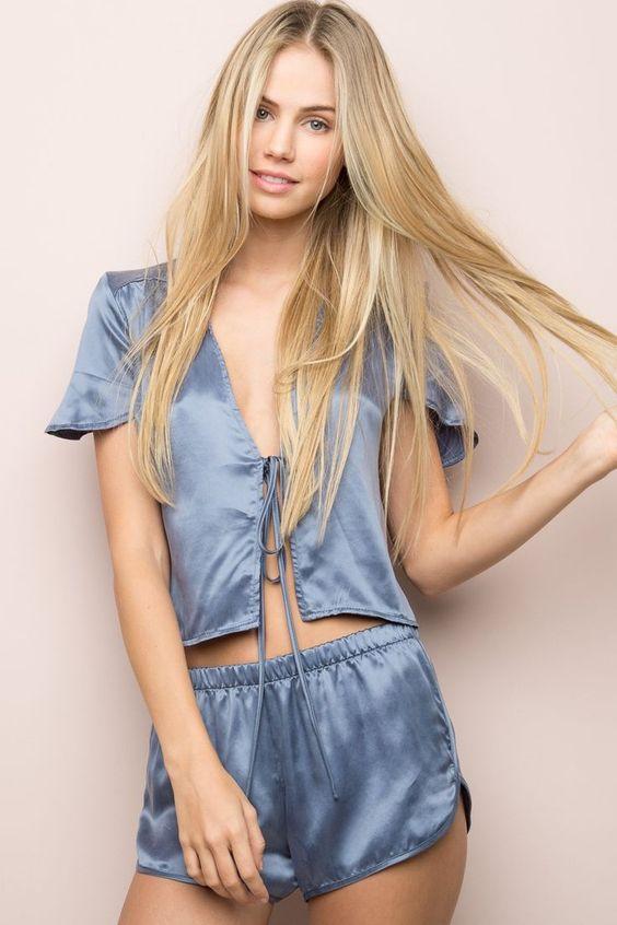 lisette shorts silk